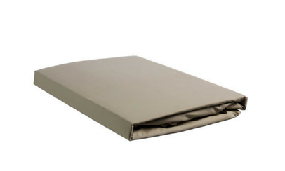 Productafbeelding: Beddinghouse Percale hoeslaken met Split Taupe