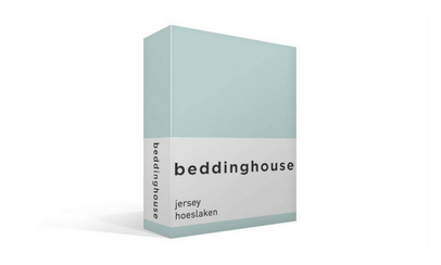Productafbeelding: Beddinghouse Jersey hoeslaken Mint Green