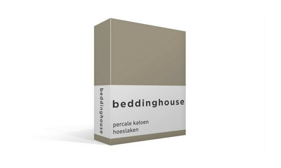 Productafbeelding: Beddinghouse Percale hoeslaken Taupe