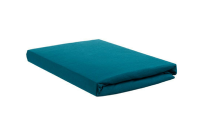 Productafbeelding: Beddinghouse Jersey topper hoeslaken met split Sea Green