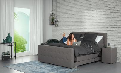 Productafbeelding: Boxspring elektrisch - Caresse 4810