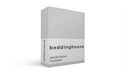 Productafbeelding: Beddinghouse Percale hoeslaken Light Grey