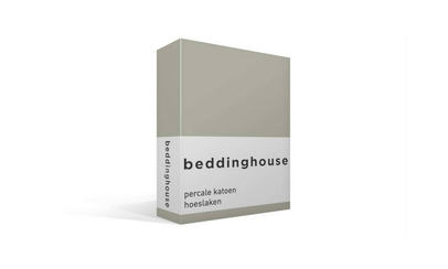 Productafbeelding: Beddinghouse Percale hoeslaken Sand